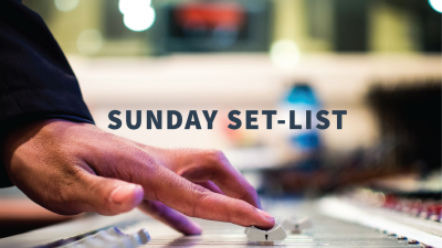 Sunday Set-List
