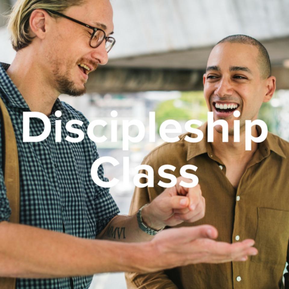 Men's Real-Life Discipleship Class