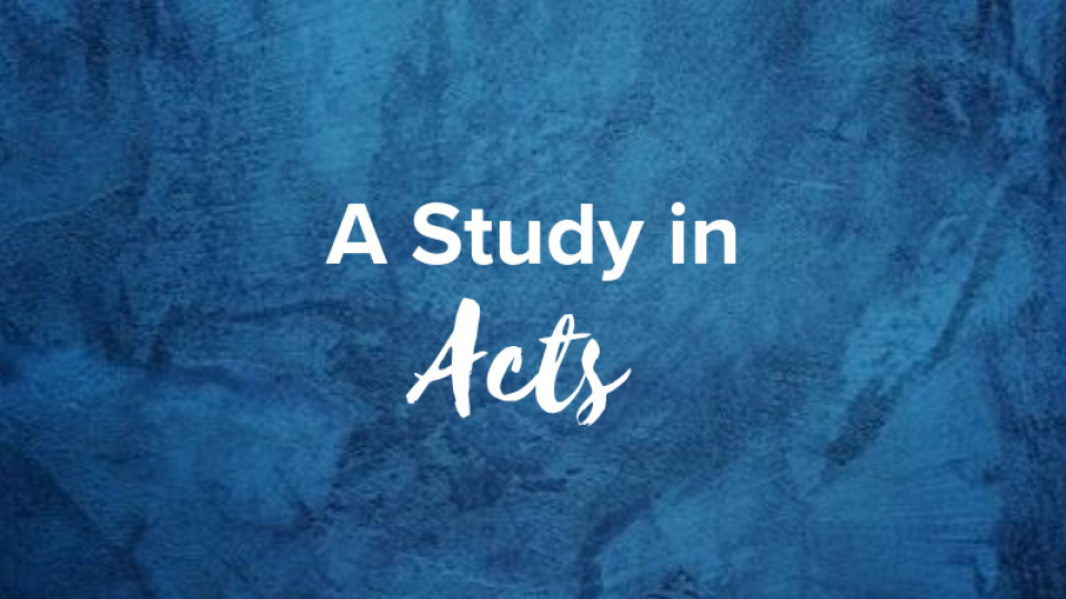 Women: A Study in Acts (AM)
