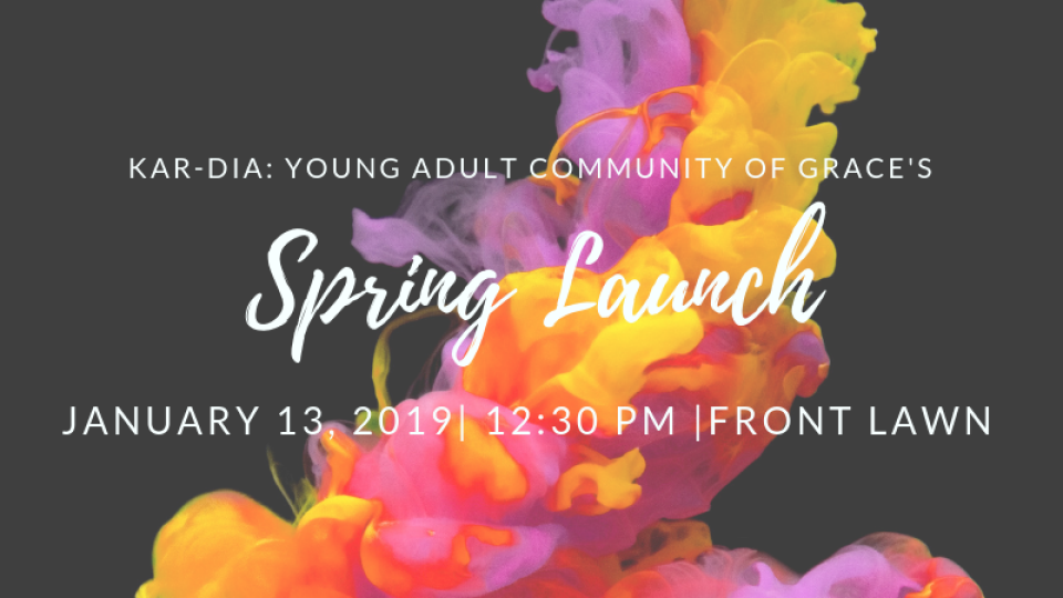 Young Adult's Spring Launch