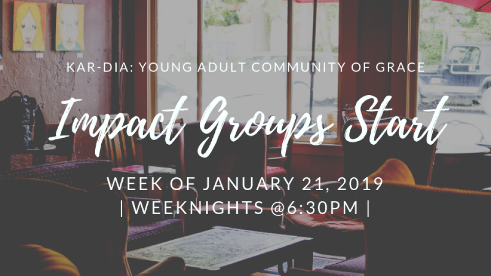 Young Adult's Impact Groups