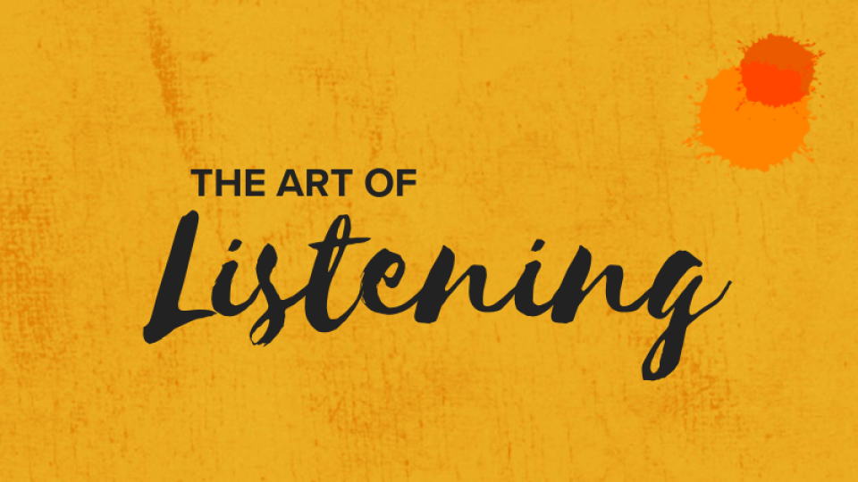 Women's The Art of Listening